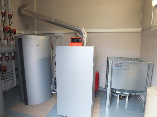 Impianto di riscaldamento e produzione ACS per ristorante con caldaia a pellet - 5