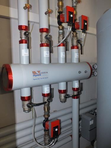 Impianto di riscaldamento e produzione ACS per ristorante con caldaia a pellet - 3