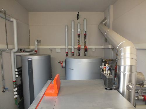 Impianto di riscaldamento e produzione ACS per ristorante con caldaia a pellet - 6
