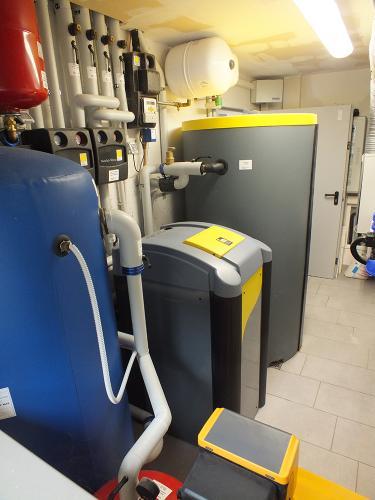 Villa con impianto di riscaldamento e raffrescamento con pompa di calore geotermica - 4