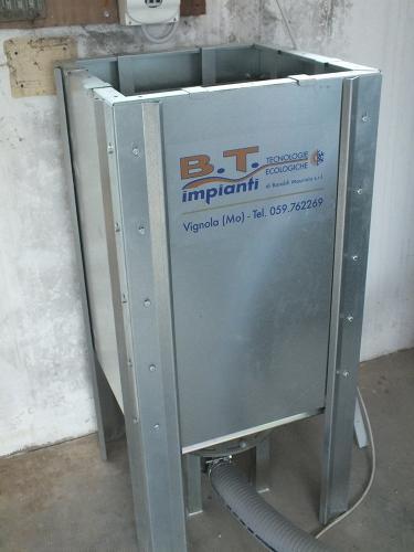 Centrale termica per riscaldamento e produzione ACS con caldaia a pellet e solare termico per laboratorio artigianale con abitazione annessa - 5