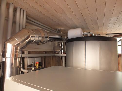 Riqualificazione impianti in Villa bifamiliare con impianto di riscaldamento e produzione di ACS con caldaia a legna, solare termico e pompa di calore - 4