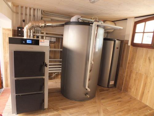 Riqualificazione impianti in Villa bifamiliare con impianto di riscaldamento e produzione di ACS con caldaia a legna, solare termico e pompa di calore - 15