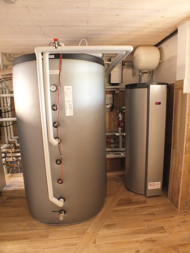 Riqualificazione impianti in Villa bifamiliare con impianto di riscaldamento e produzione di ACS con caldaia a legna, solare termico e pompa di calore - 11