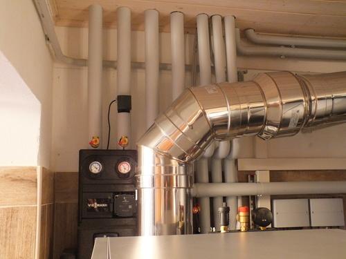 Riqualificazione impianti in Villa bifamiliare con impianto di riscaldamento e produzione di ACS con caldaia a legna, solare termico e pompa di calore - 16