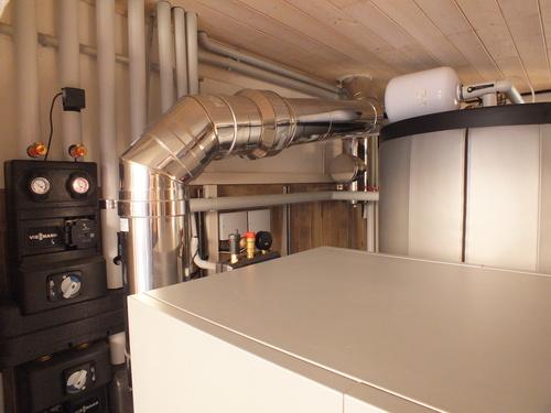 Riqualificazione impianti in Villa bifamiliare con impianto di riscaldamento e produzione di ACS con caldaia a legna, solare termico e pompa di calore - 7