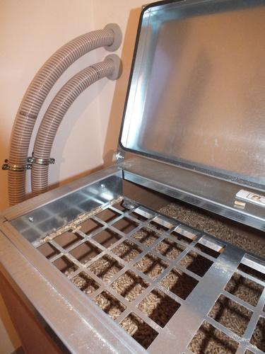Riqualificazione villa con impianto di riscaldamento e produzione di acqua calda sanitaria con caldaia combinata legna/pellet - 5