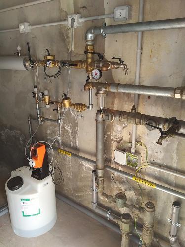 Riqualificazione centrale termica presso centro sportivo comunale - 5