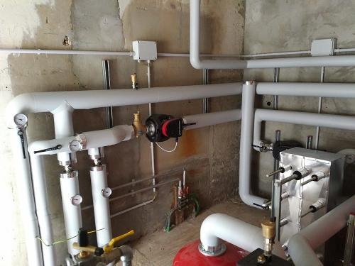 Riqualificazione centrale termica presso centro sportivo comunale - 1