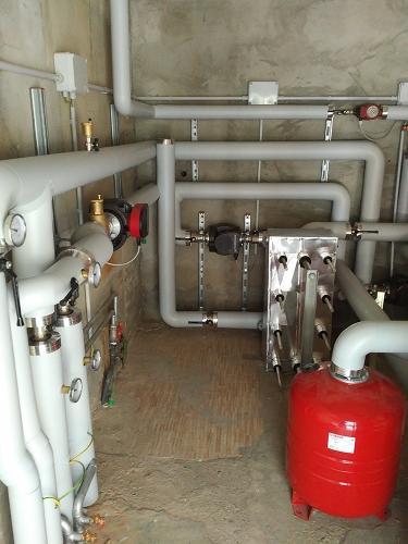Riqualificazione centrale termica presso centro sportivo comunale - 6