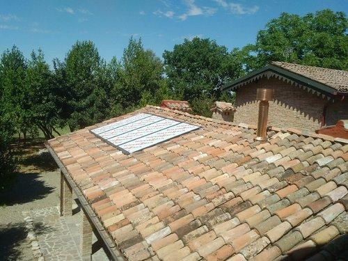 Riqualificazione impianti in Villa bifamiliare con impianto di riscaldamento e produzione di ACS con caldaia a legna, solare termico e pompa di calore - 12