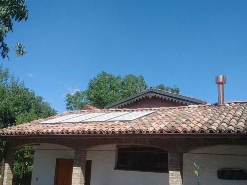 Riqualificazione impianti in Villa bifamiliare con impianto di riscaldamento e produzione di ACS con caldaia a legna, solare termico e pompa di calore - 6